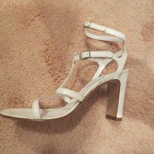 Accessoire White Ankle Strap Sandals